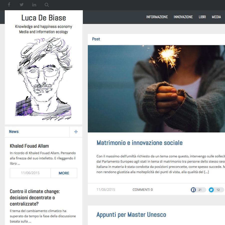 Luca DeBiase blog