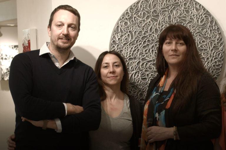 I curatori del progetto Artrooms
